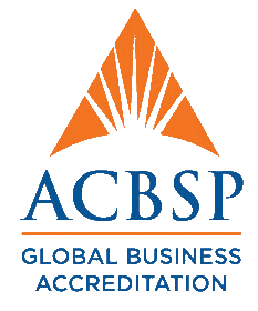 logo de ACBSP-Association of Collegiate Business Schools and Programs