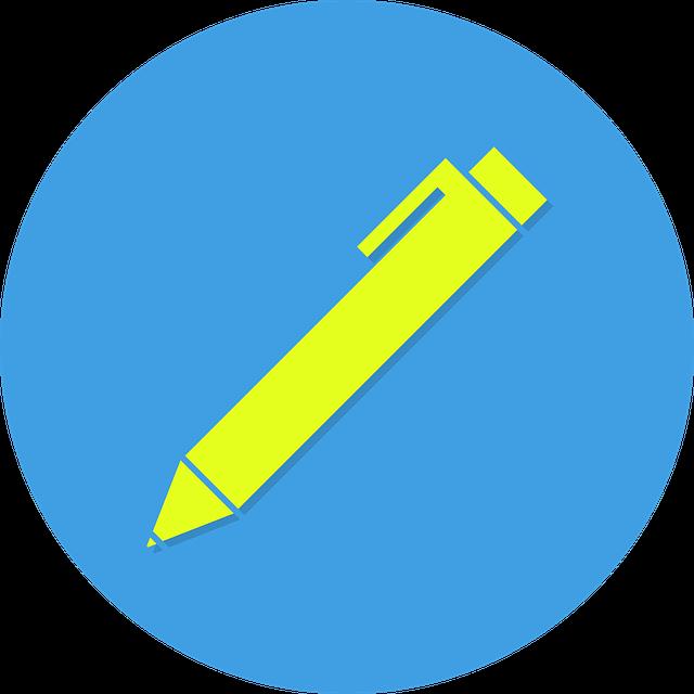 ícono de bolígrafo